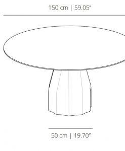 mesa burin de viccarbe